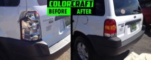 Colorcraft Pros perform headlight restoration in Montgomery, Prattville, Millbrook, & Wetumpka, AL.